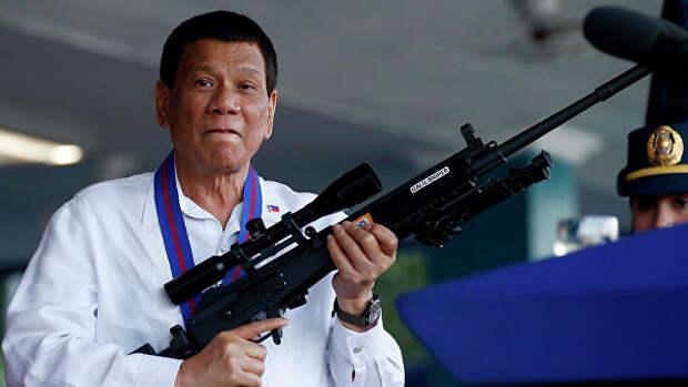 Глава Филиппин разрешил гражданам стрелять в чиновников, требующих взятки