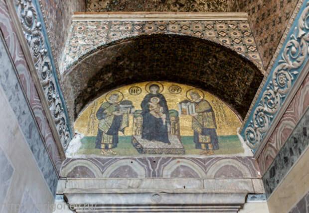Фрески собора Святой Софии