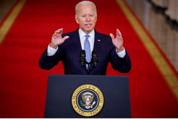 Байден назвал выход США из Афганистана «невероятно успешной миссией»