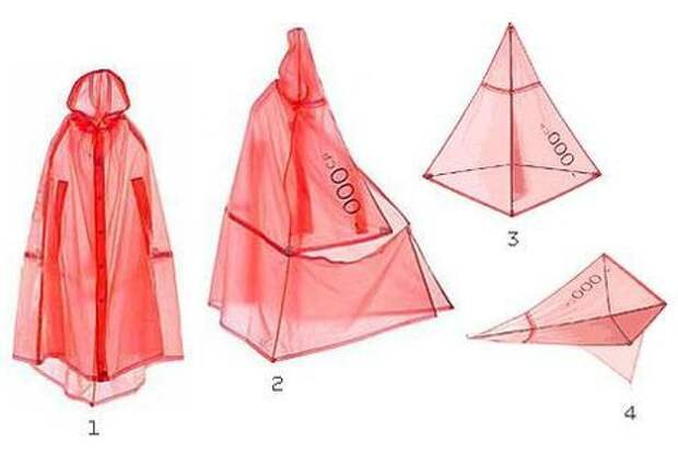 Плащ-палатка или рюкзак? (подборка)