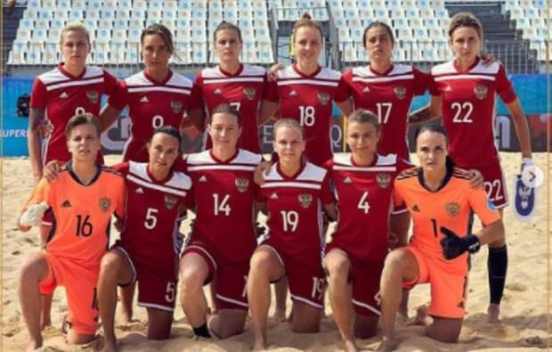 Пляжная футболистка из Строгина завоевала кубок Евролиги