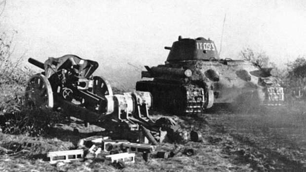 Легендарный рейд Т-34 по оккупированному Калинину. Феномен ВОВ, не имеющий аналогов в истории.