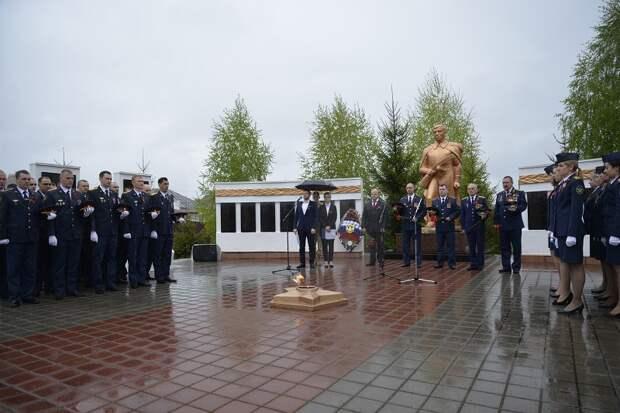 В Рассказовском районе состоялся митинг в честь Великой Победы