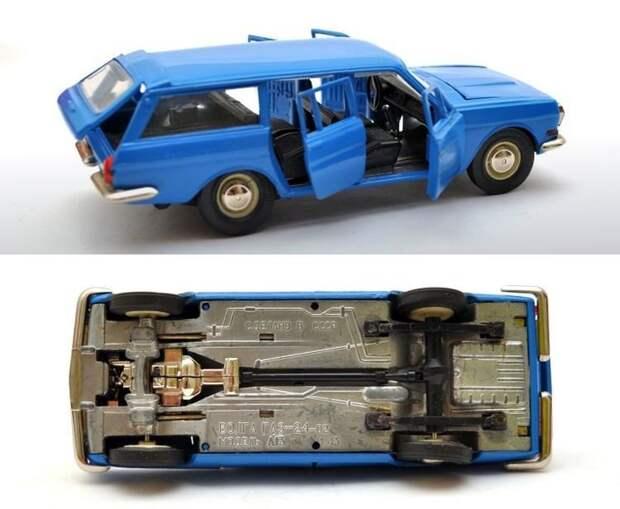 Модель универсала ГАЗ-24-02 «Волга», выпущенная в 1980 году авто, автомобили, коллекционирование, масштабная модель, моделизм, модель автомобиля, хобби