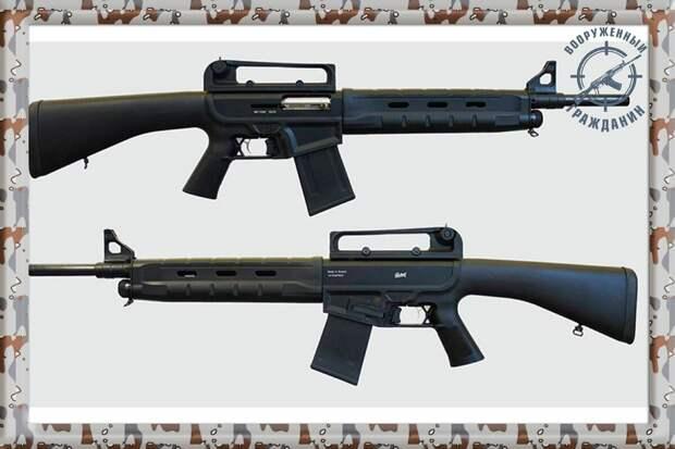 Отечественный карабин TG-1. Пародия на западную М-16, за 20 тысяч рублей