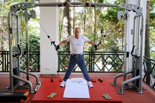Жизнь Владимира Путина глазами американцев (28 фото)