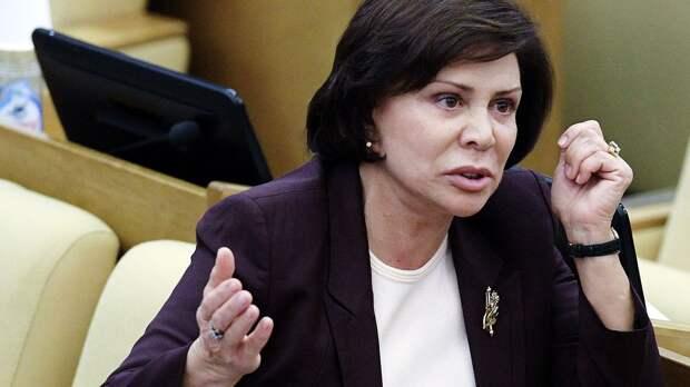 ЦИК РФ попросили проверить возможное наличие двойного гражданства у Родниной