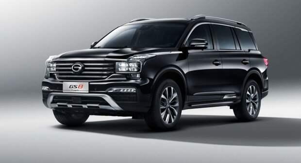 Как Land Cruiser, но китайский и тоже дорогой — GAC GS8