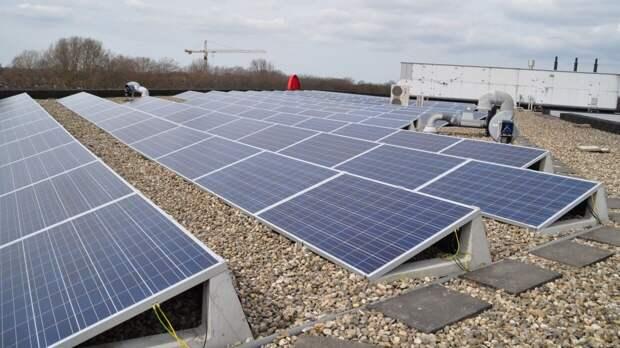 """""""Молекулярный клей"""" помог увеличить стабильность солнечных батарей"""
