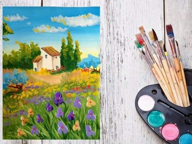 ТЦСО в Митине пригласил пенсионеров на курсы по рисованию