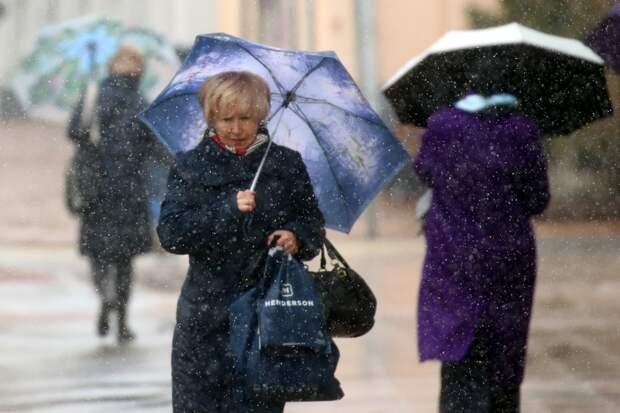 Жителям Европейской России пообещали снег