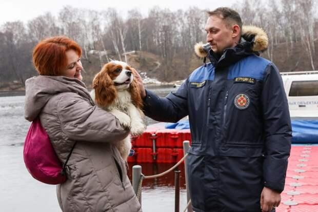 С начала года в столице спасателями Московской поисково-спасательной службы было спасено девять человек