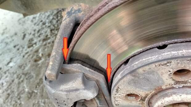 Зачем опытные автолюбители стачивают бортик, который образуется на тормозном диске, показываю как сточить самостоятельно