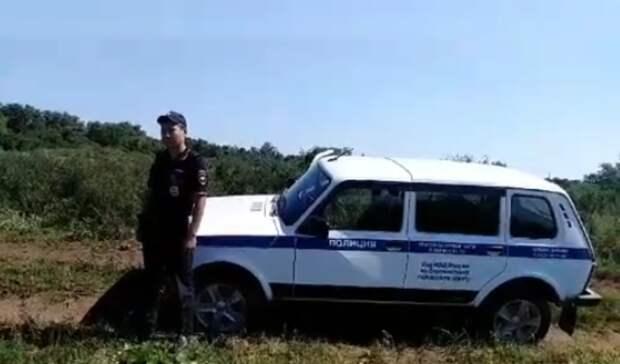 На месте обнаружения артснаряда под Сорочинском выставлено оцепление