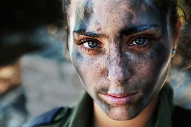 Военнослужащая Армии обороны Израиля