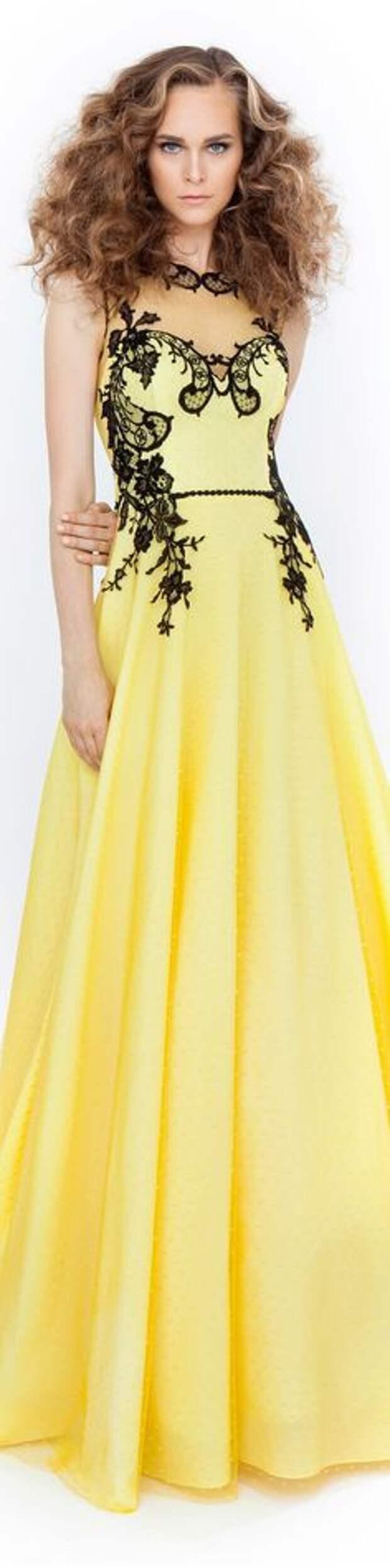 Платья в пол для маленького роста