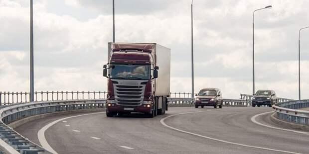 Собянин: ограничения транзита грузовиков по МКАД себя полностью оправдало. Фото: Д. Гришкин mos.ru