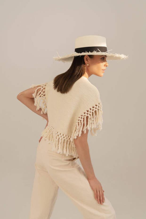 5 модных вариантов соломенных шляп для жаркого лета...