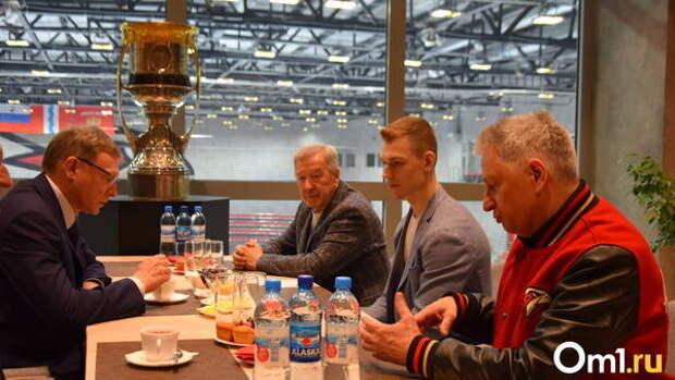 «Моя мечта сбылась». Хоккеист «Авангарда» Кирилл Семёнов побывал в Омске