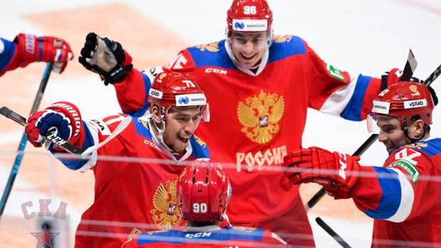 Штаб сборной РФ по хоккею утвердил состав команды на Чешские игры