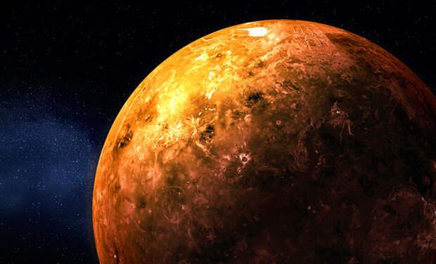 Длина дня на Венере меняется на 20 минут. Ветер настолько сильный, что тормозит и разгоняет планету