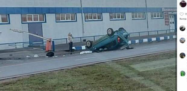 Автоледи припарковала на крышу свою «легковушку» на Пятницком