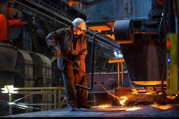 НЛМК во втором квартале снизил производство стали на 8%