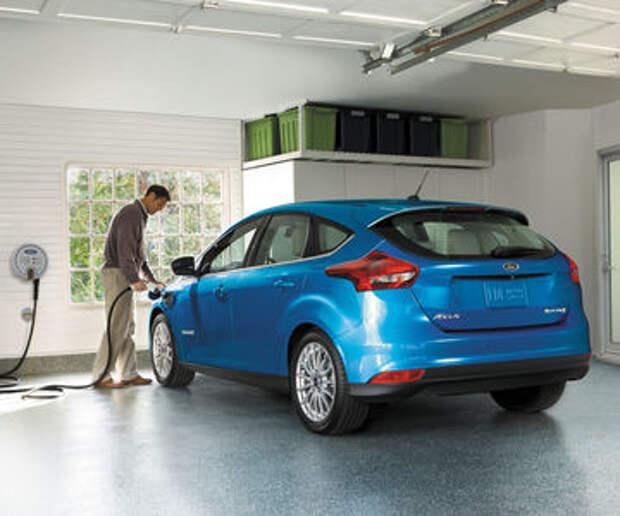 Ford полностью переходит на батарейки. Но не сейчас, а через 13 лет