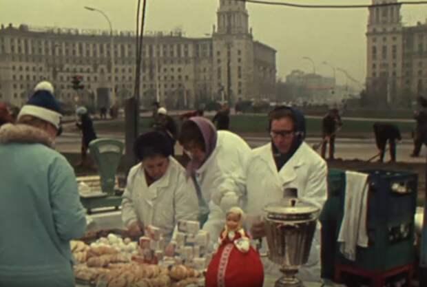 Весна в Москве 1976 года
