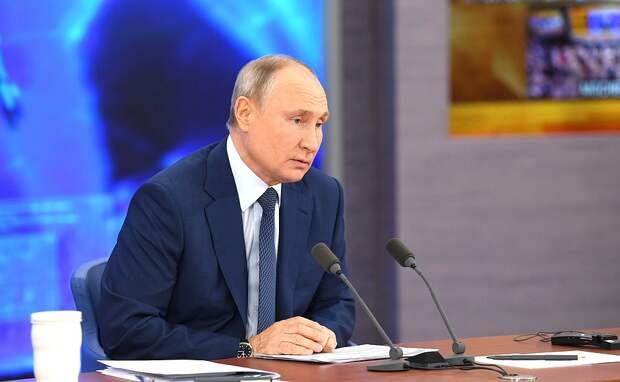 Путин пообещал позаботиться о Донбассе