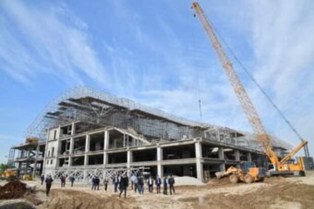 Первый этап строительства терминала нового аэропорта завершен на 100%