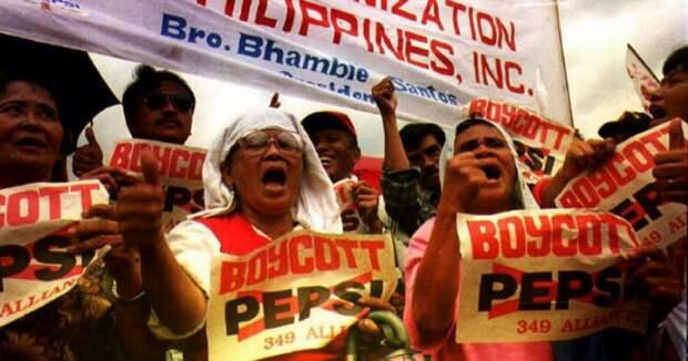Почему на Филиппинах презирают компанию Pepsi и все что с ней связано