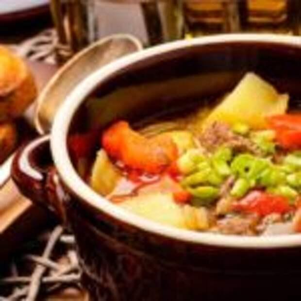 «Бограч» или венгерский гуляш – вкусный густой и наваристый суп