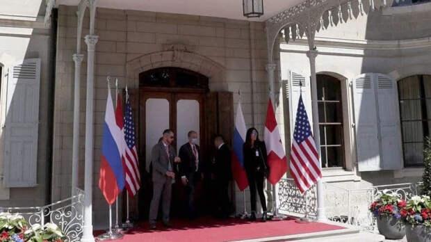 Саммит Путина и Байдена начался в узком составе