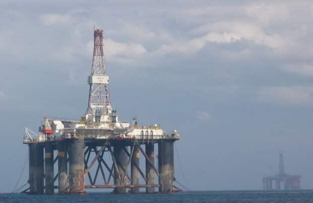 UKCS Великобритания Северное море шельф