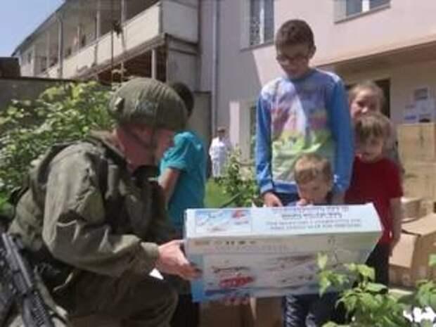 Миротворцы РФ доставили гуманитарную помощь в отдаленные поселки Карабаха