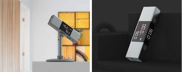 Xiaomi представали лазерный дальномер с изогнутым экраном и IP54