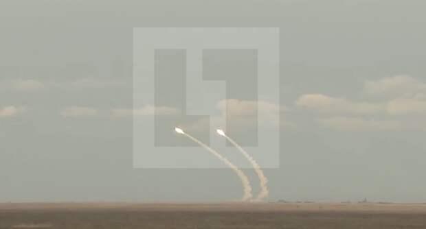 Лайф публикует видео ракетных учений Украины на границе с Крымом