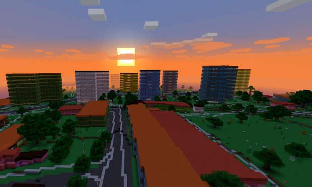 Игроки Minecraft разрушили виртуальную Данию ипоставили наеё территории американские флаги