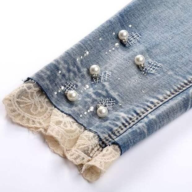 Нарядные джинсы (подборка)