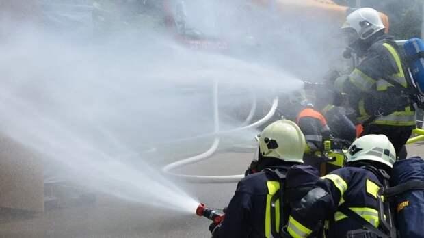 Жилой дом может обрушиться из-за пожара в Новой Москве