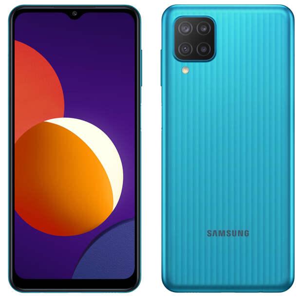 В России вышел смартфон Samsung Galaxy M12 с ёмкой батареей и ценой от 12 990 рублей