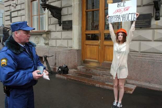 Зачем американцам невеселые картинки из России