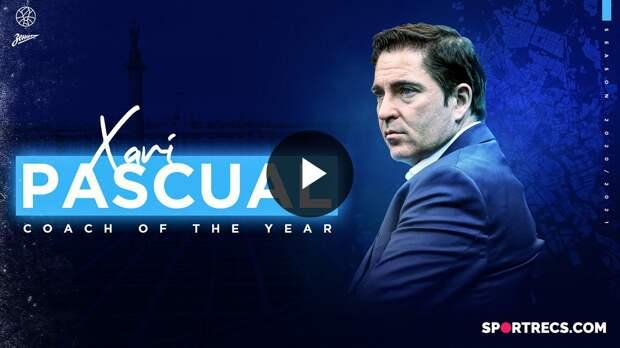 Coach of the Year: Xavi Pascual, Zenit | Season 2020/21