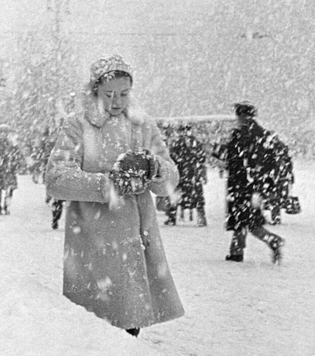 Снегопад в Москве в 1964 году