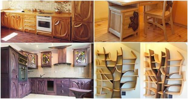 Это Вам не IKEA: удивительная мебель польского плотника станет настоящим украшением дома