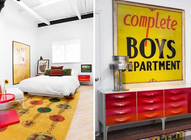Интересные декоративные элементы в комнате подростка