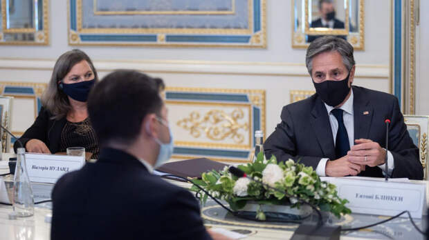 Глава Госдепа показал, кто хозяин Украины