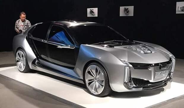 Крылышком бяк-бяк-бяк-бяк: Qoros и Koenigsegg пугают Теслу дизайном и мощью