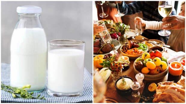 Если вы и перевариваете лактозу, то молоко - только отдельный прием пищи.